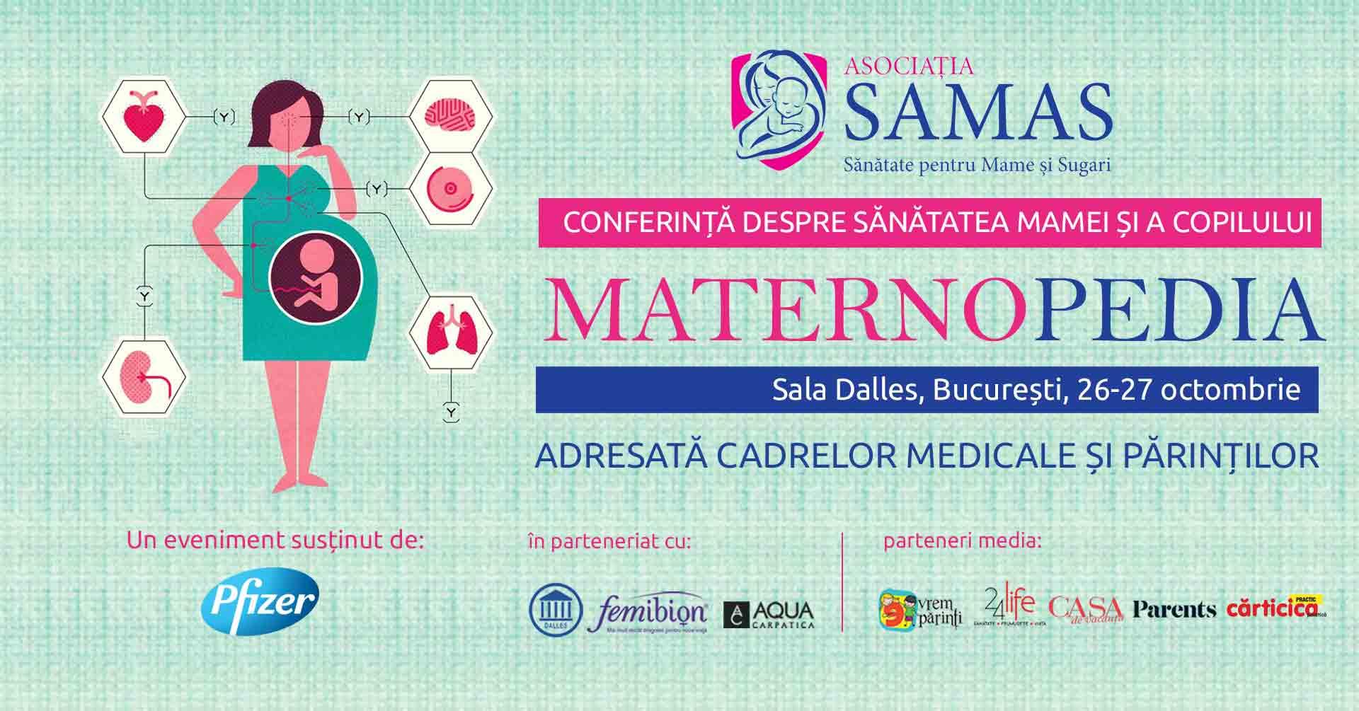 Participa la MATERNOPEDIA, pe 26 si 27 octombrie!