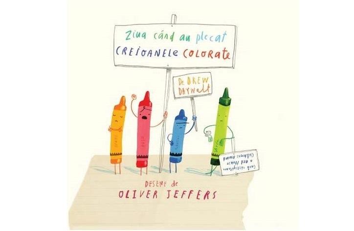 Ziua în care au plecat creioanele colorate – de Drew Daywalt