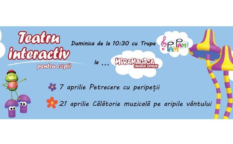Duminici de poveste cu teatru interactiv pentru copii @ Miramagica