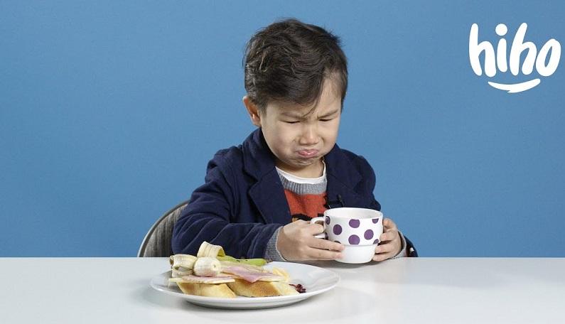 Când copiii încearcă mâncăruri noi