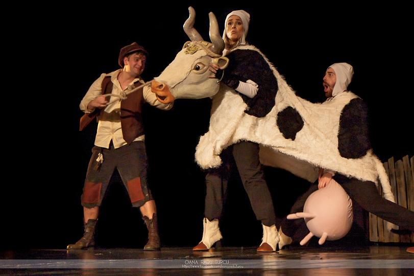 Un ALTFEL de weekend la Teatrul Ion Creangă