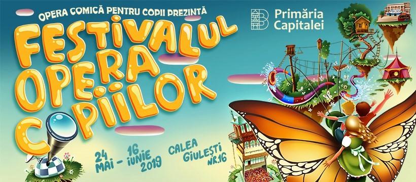 Opera Comică pentru Copii: Aventuri magice în Festivalul Opera Copiilor!