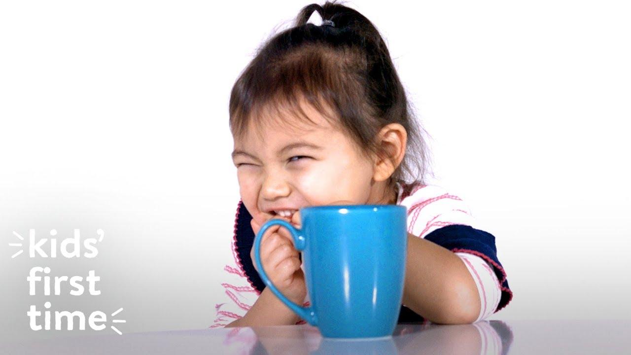 Copiii și cafeaua